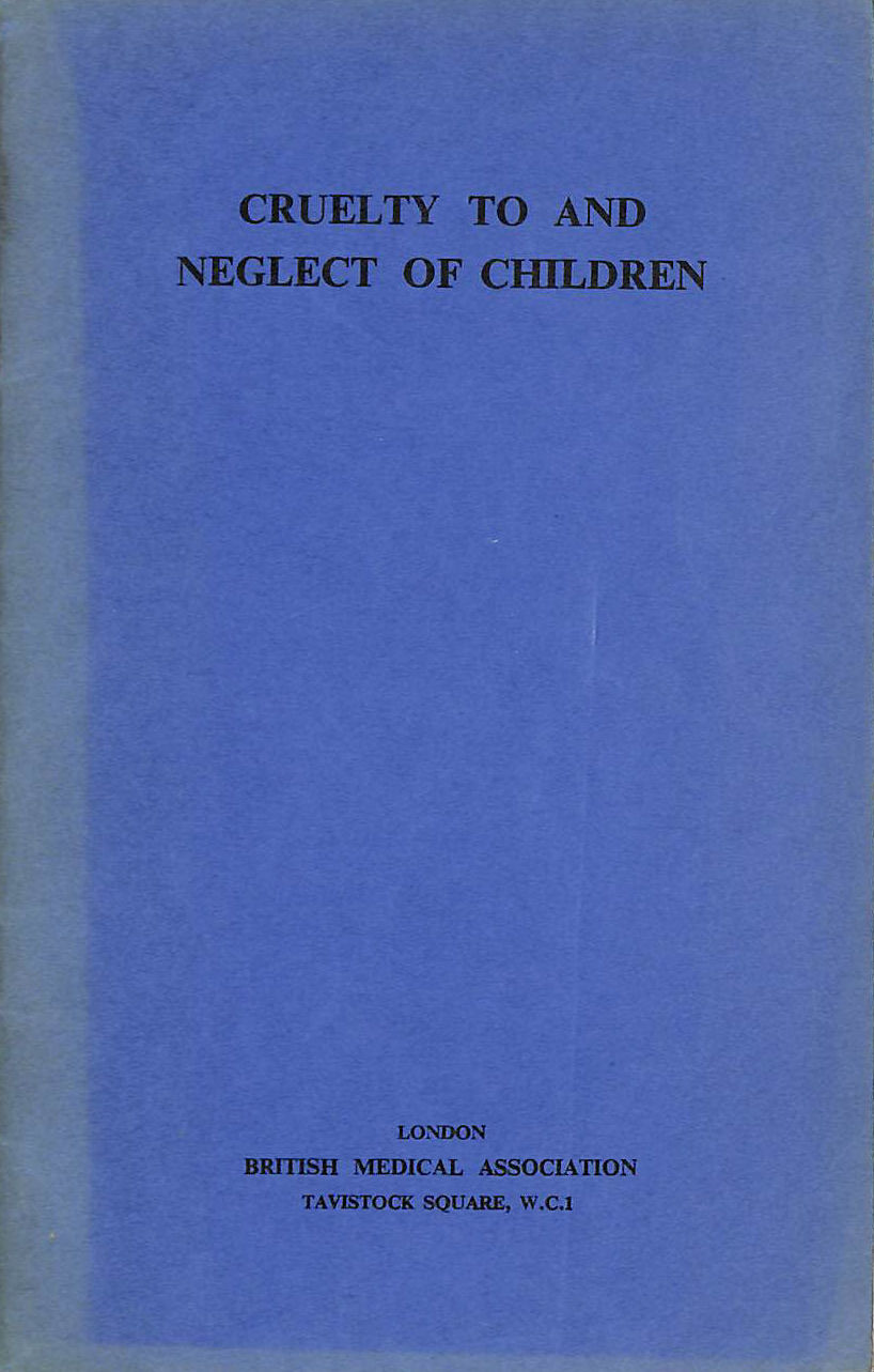 Image for Cruelty to and Neglect of Children