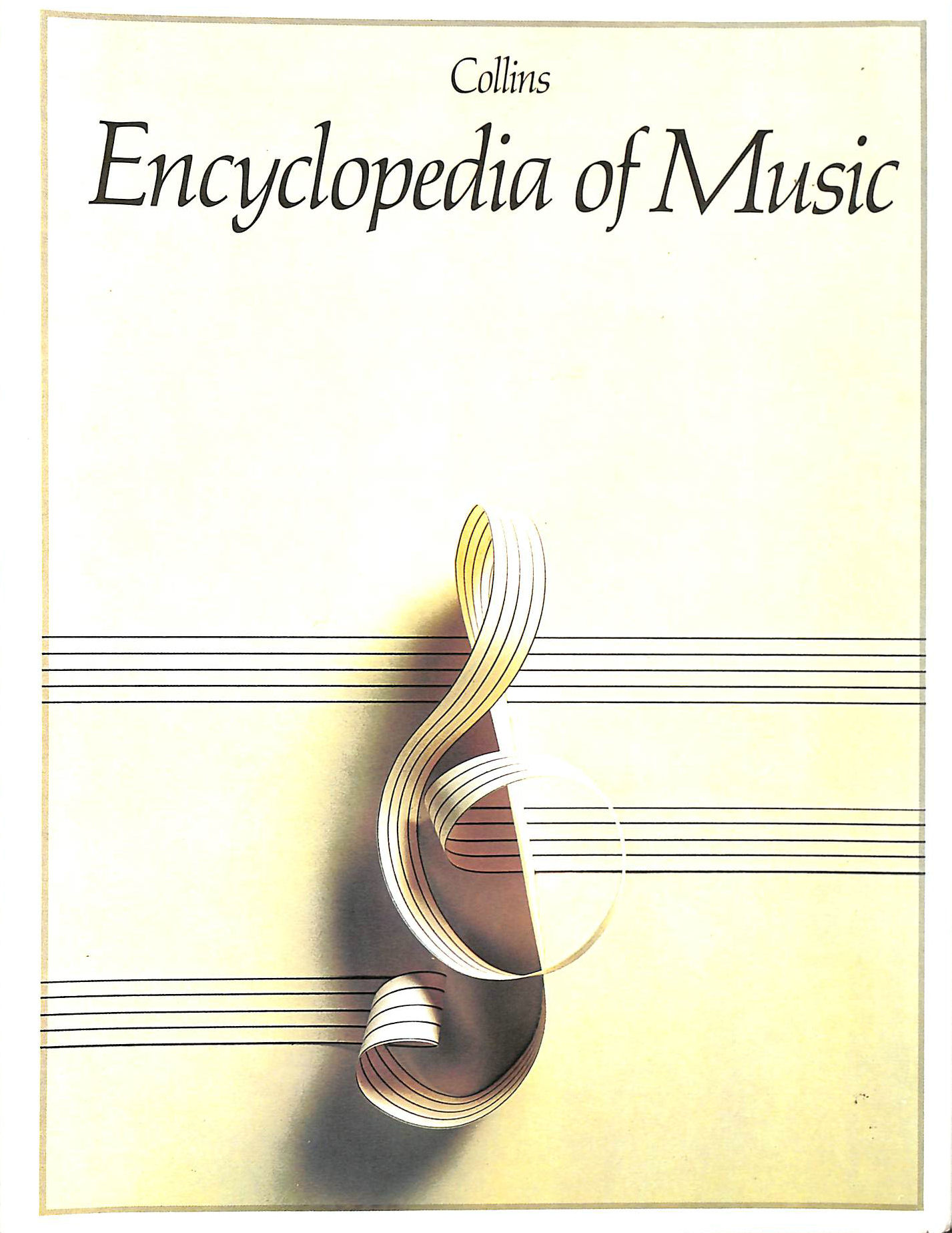 Image for COLLINS ENCYCLOPEDIA OF MUSIC