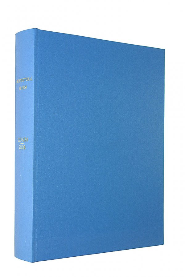 Image for The Architectural Review 2008 Including Both Volumes 223 and 224