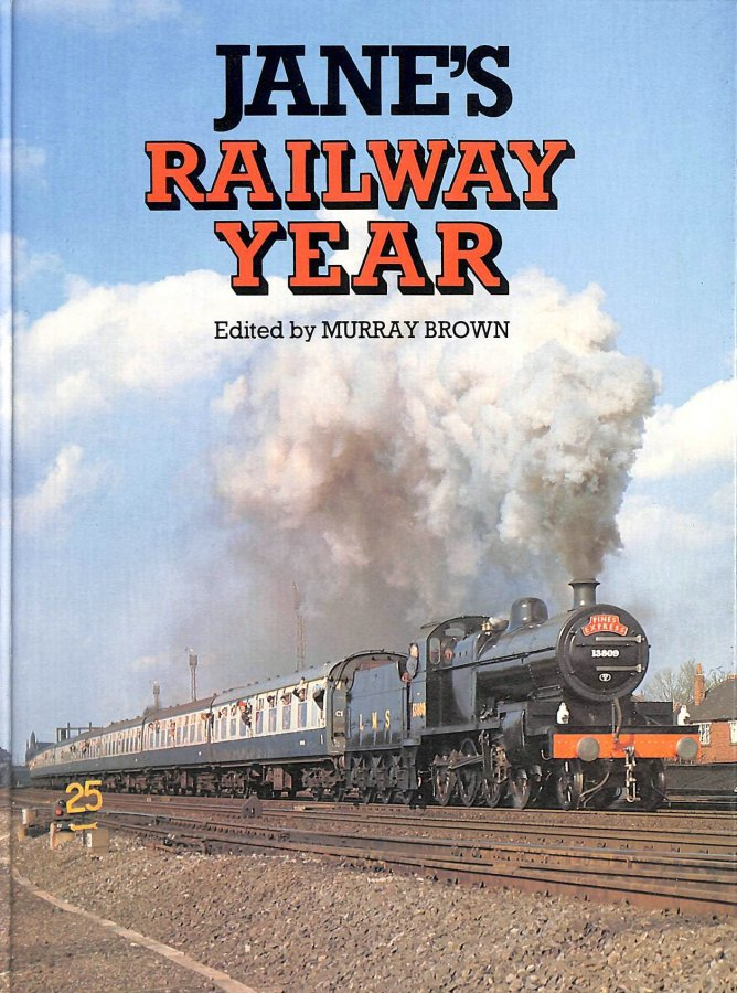 Image for JANE's RAILWAY YEAR.