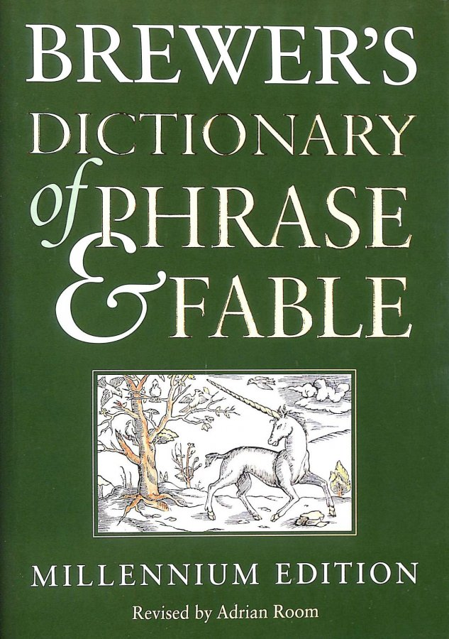 Image for Brewer's Dictionary of Phrase and Fable