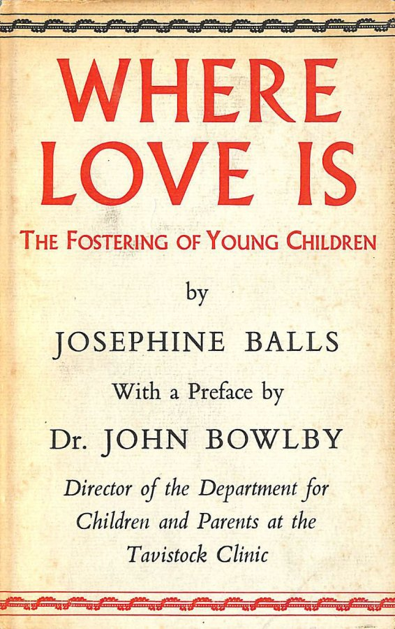 Image for Where love is: The fostering of young children