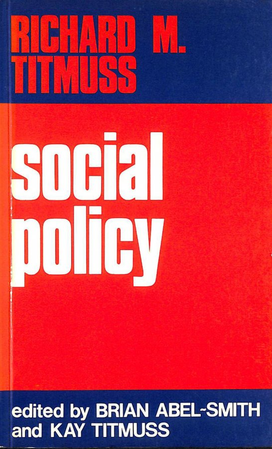 Image for Social Policy: An Introduction
