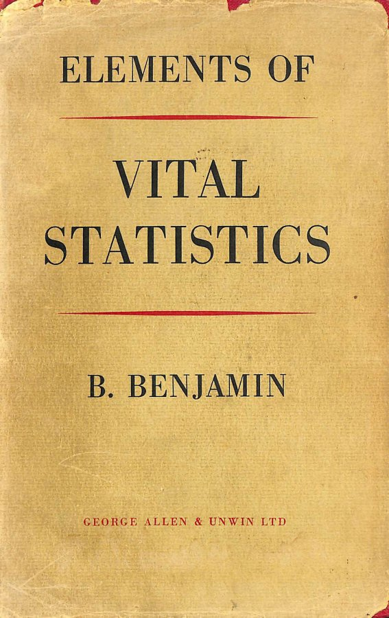 Image for Elements of Vital Statistics