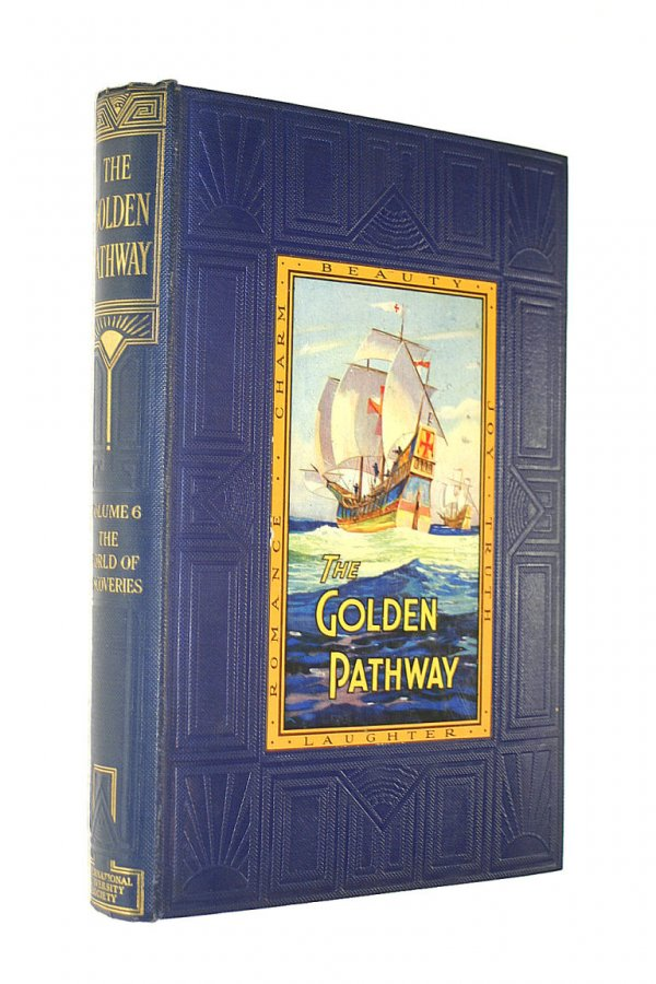 Image for The Golden Pathway 8 The World of Discoveries