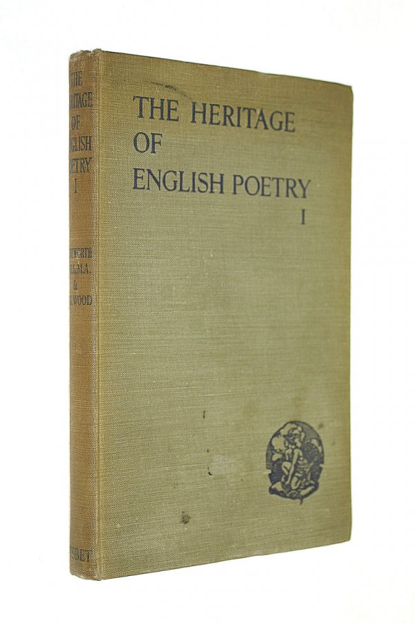 Image for THE HERITAGE OF ENGLISH POETRY 1