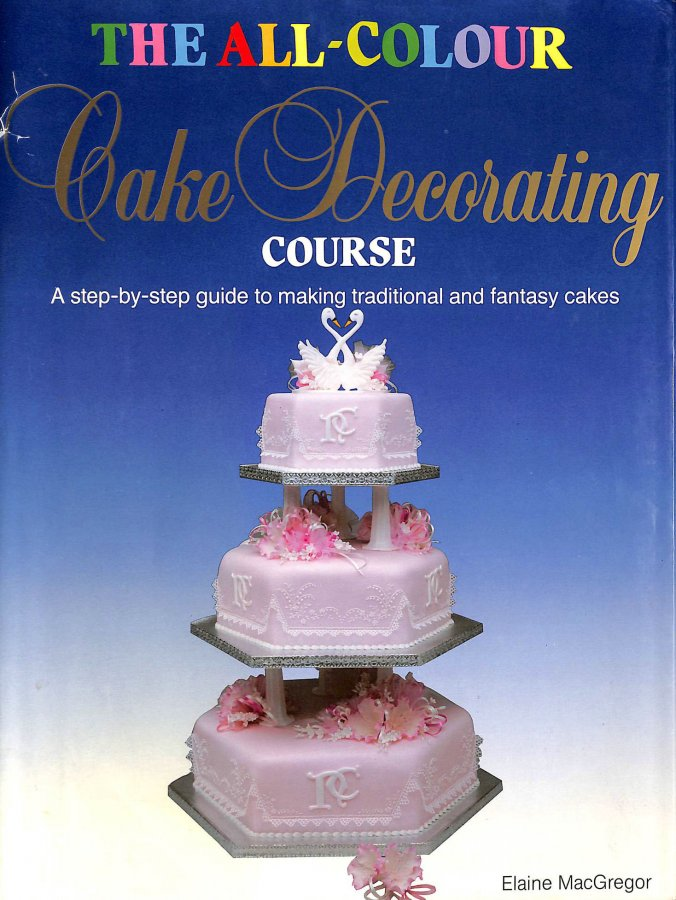 Image for All Colour Cake Decorating Cse