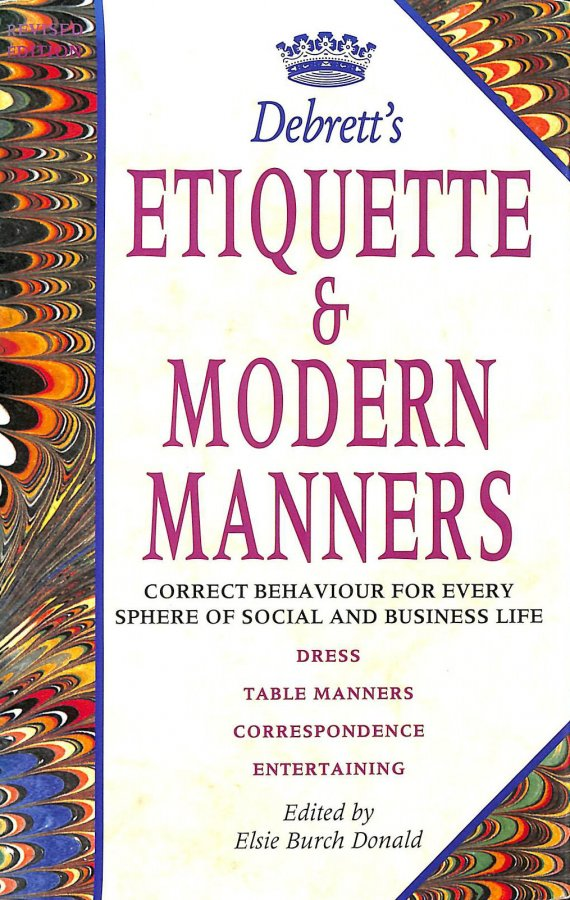 Image for Debrett's Etiquette and Modern Manners