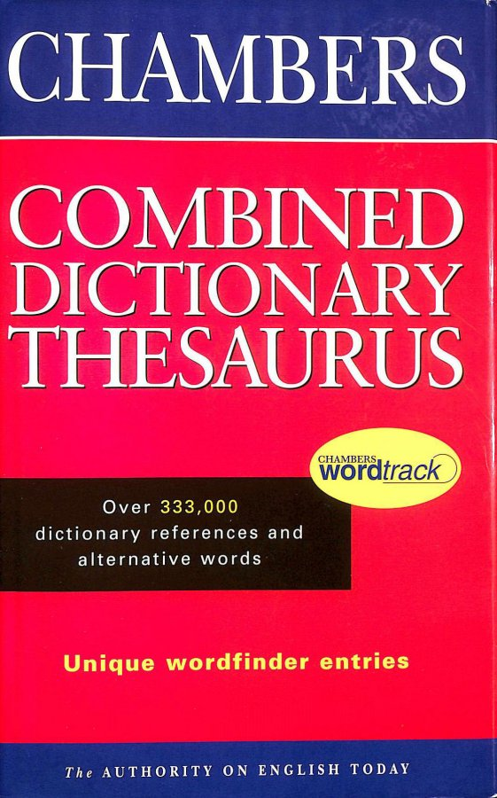 Image for The Chambers Combined Dictionary Thesaurus