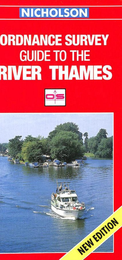 Image for Nicholson/Ordnance Survey Guide to the River Thames