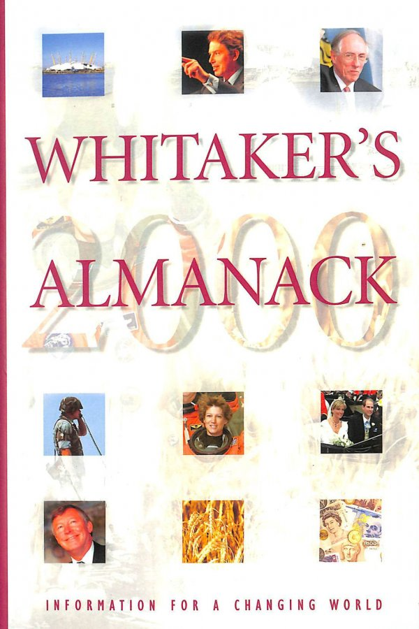 Image for Whitaker's Almanack: 132nd annual edition. Standard edition