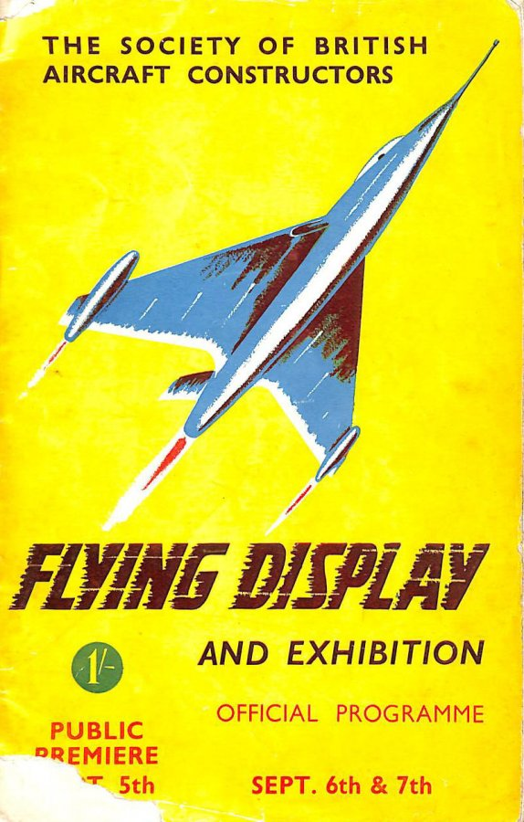 Image for 1952 Flying Display And Exhibition September 6th and  7th