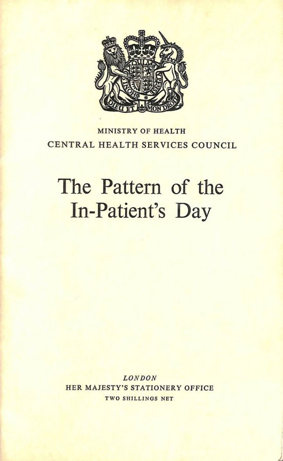 Image for The Pattern of the In-Patient's Day