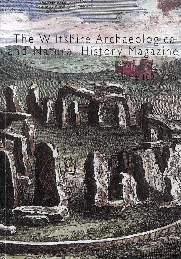 Image for Wiltshire Archaeological And Natural History Magazine. Volume 109 2016