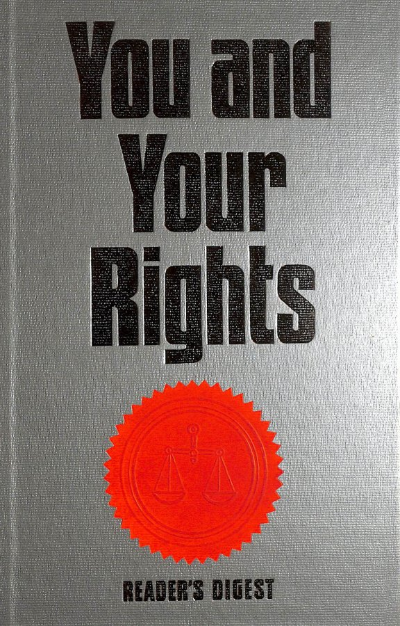 Image for You and Your Rights