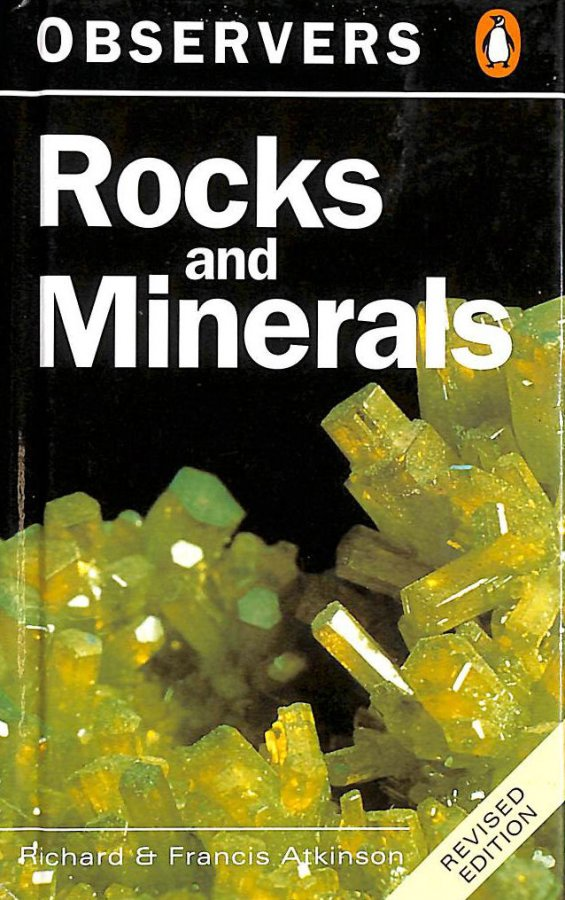 Image for The Observer's Book of Rocks and Minerals