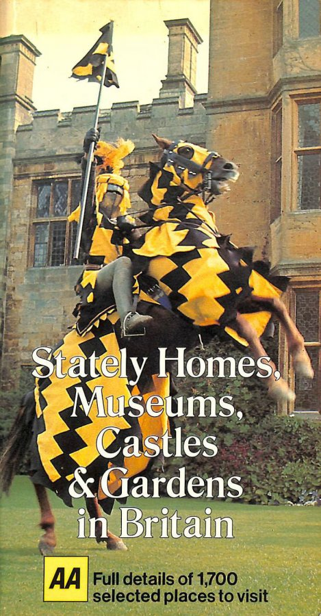 Image for Stately Homes, Museums, Castles and Gardens in Britain 1981