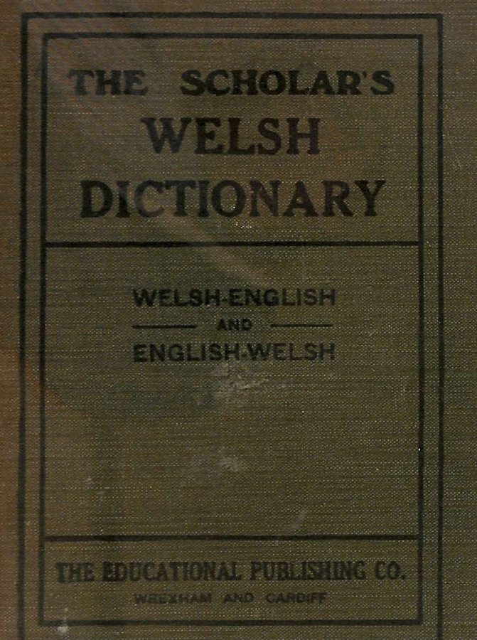 Image for The Scholar's Welsh Dictionary: Welsh-English; English Welsh