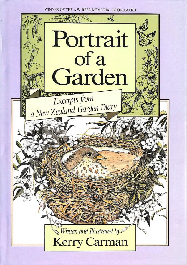 Image for Portrait of a garden: excerpts from a New Zealand garden diary