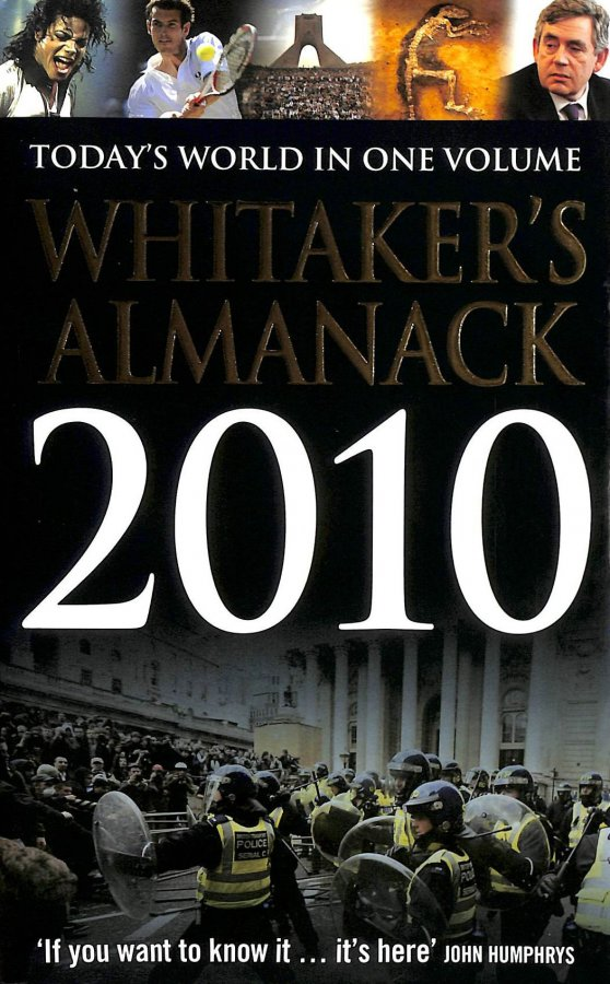 Image for Whitaker's Almanack 2010