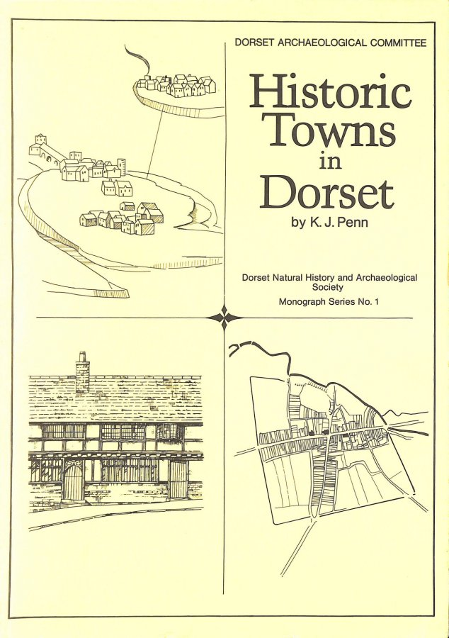 Image for Historic towns in Dorset (Dorset Natural History and Archaeological Society monograph series)