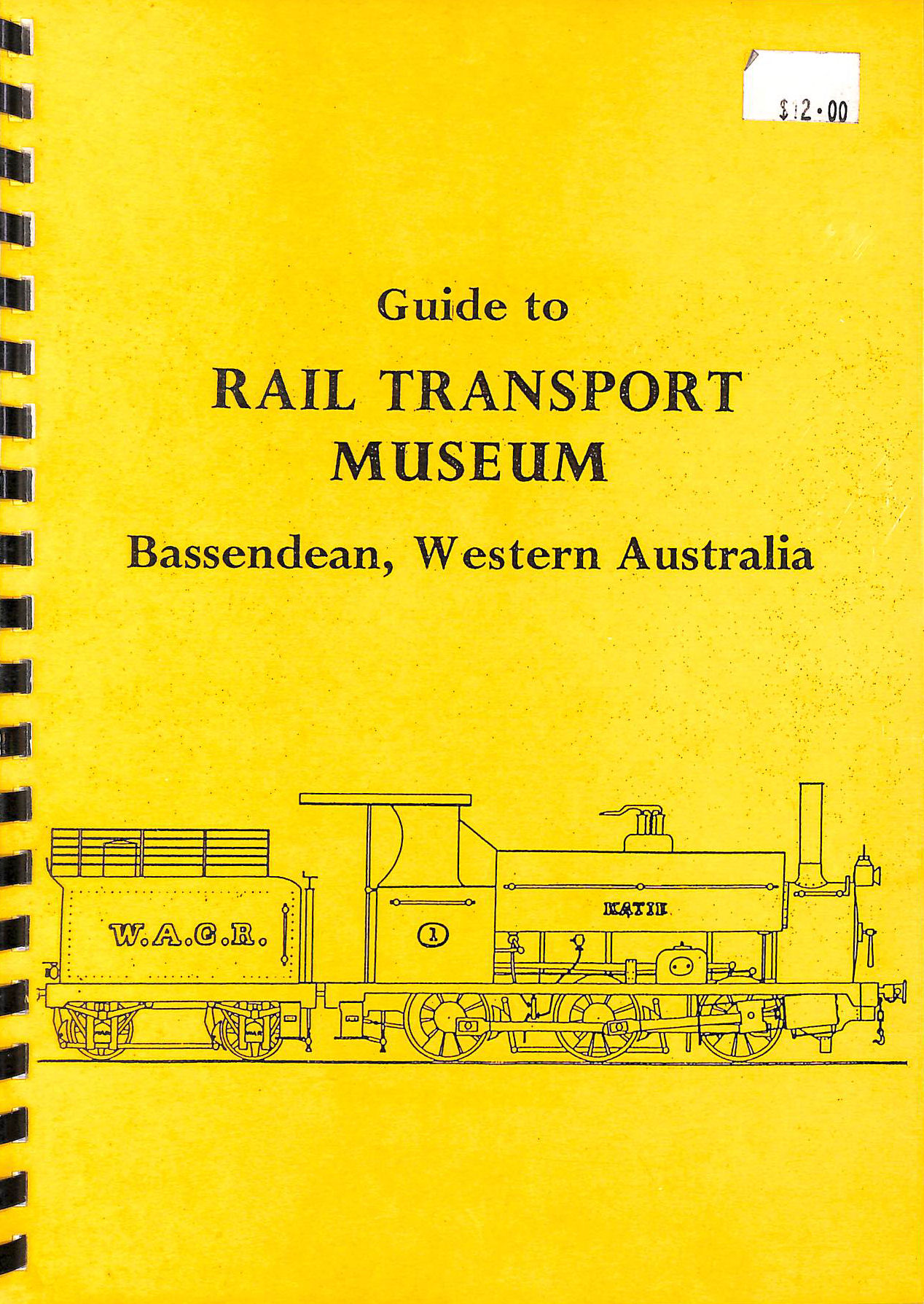 Image for Guide to Rail Transport Museum Bassendean, Western Australia