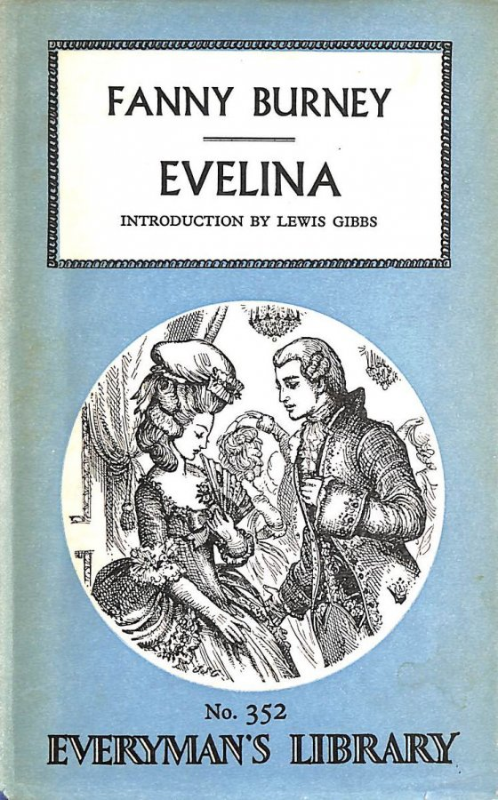 Image for Evelina, or, A young lady's entrance into the world (Everyman's library-no.352)