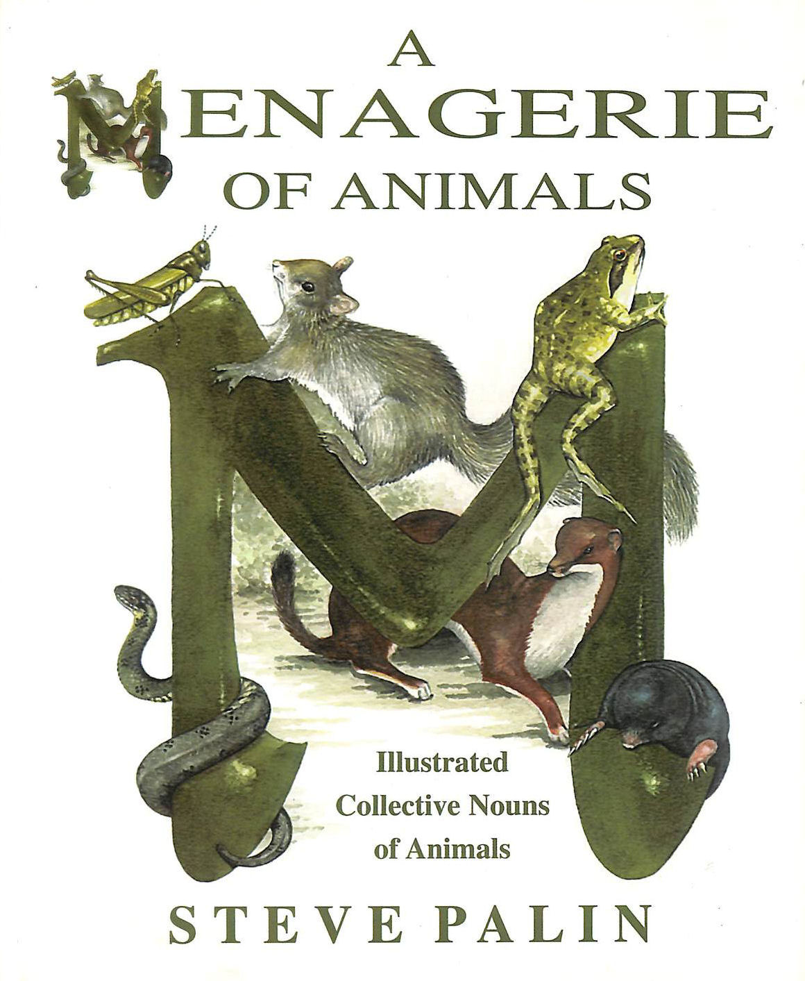 Image for A Menagerie of Animals: Illustrated Collective Nouns of Animals