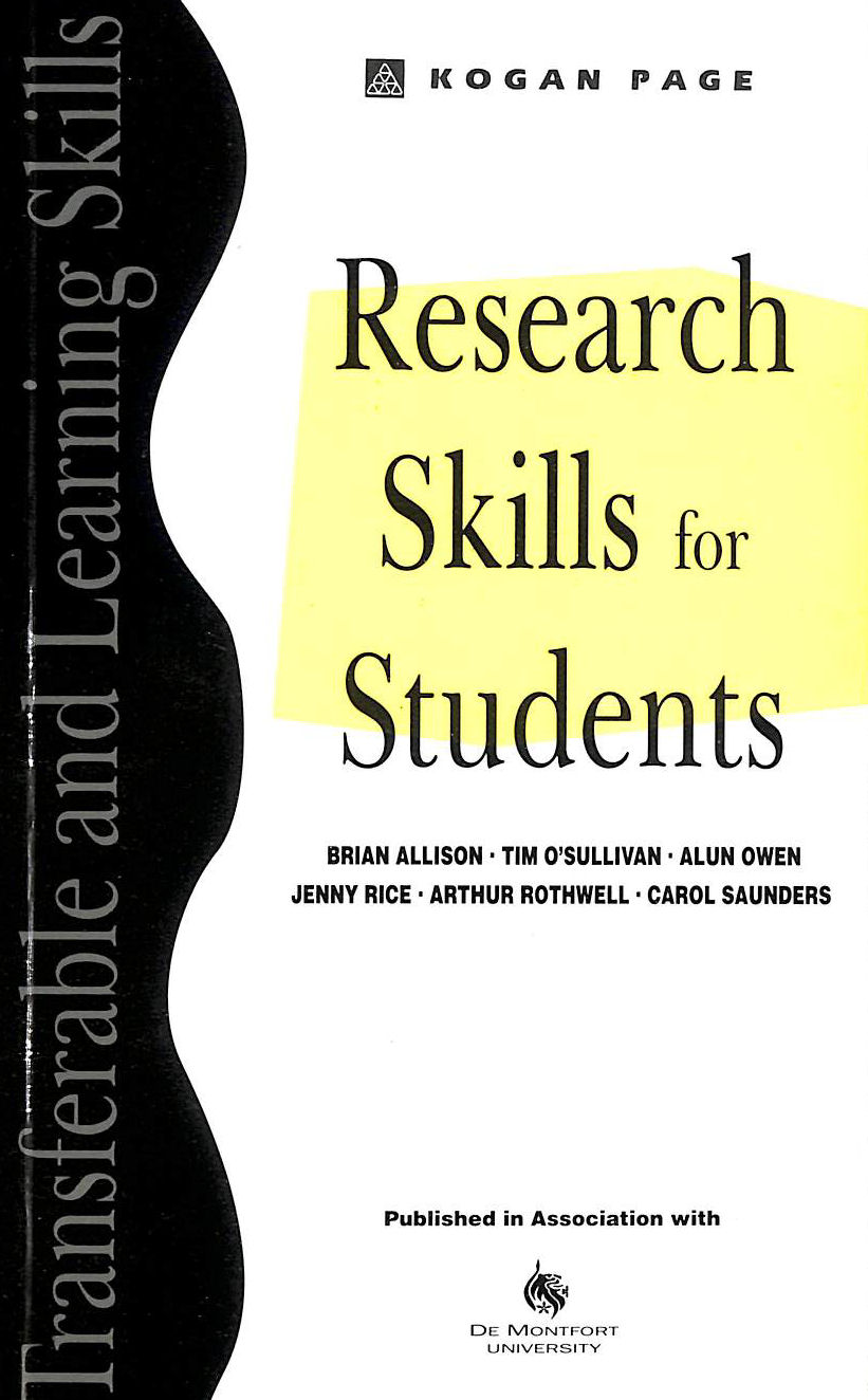 Image for Research Skills for Students (Transferable and Learning Skills)