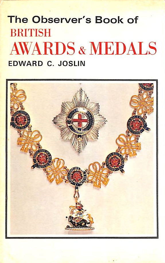 Image for The Observer's Book of British Awards And Medals (Observer's Pocket S.)