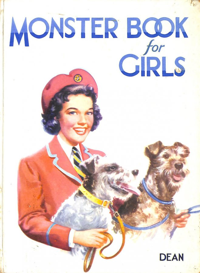 Image for MONSTER BOOK FOR GIRLS (HARDBACK) 1958