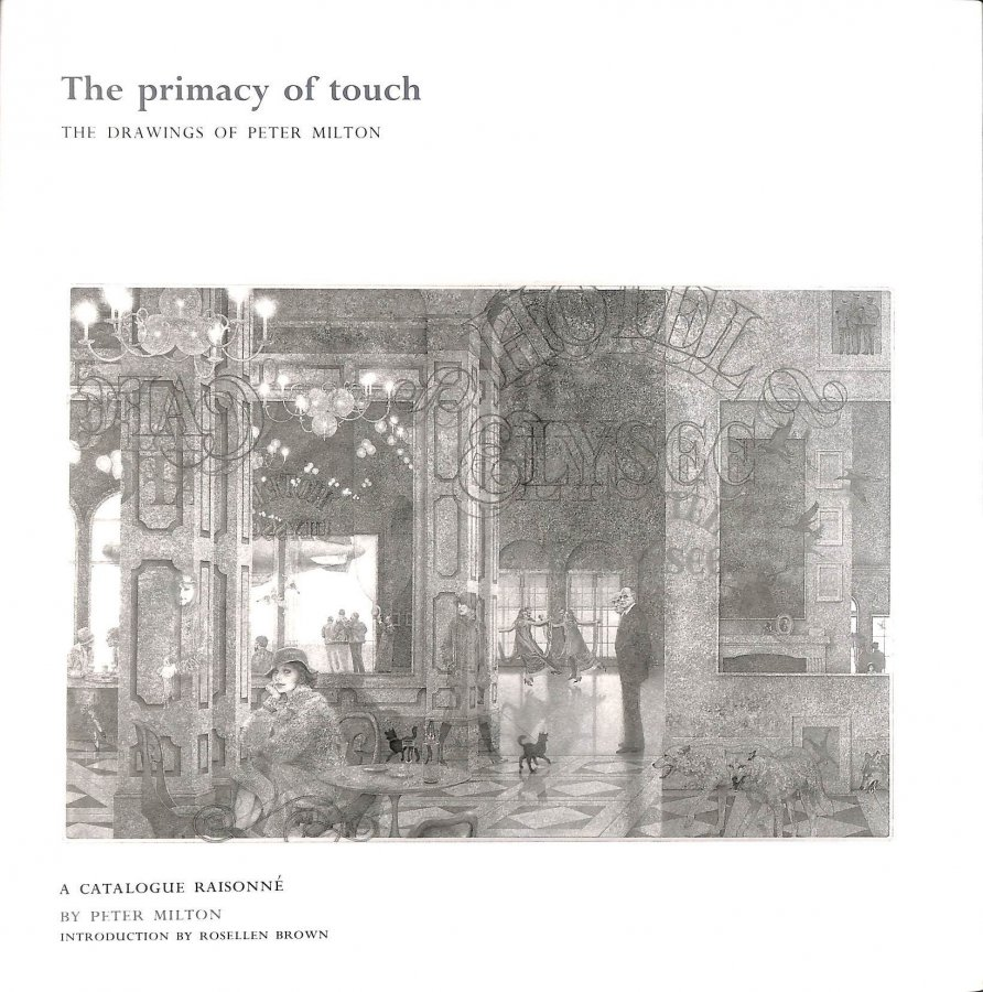 Image for The Primacy of Touch: The Drawings of Peter Milton
