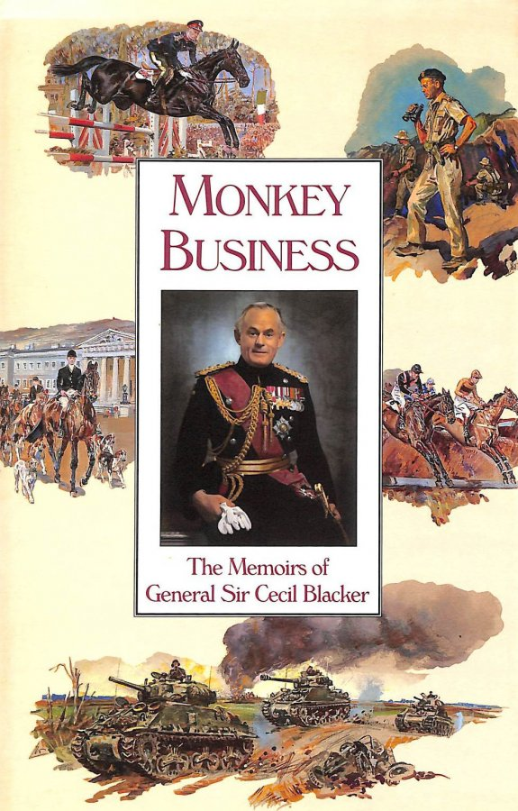Image for Monkey Business: Memoirs Of General Sir Cecil Blacker