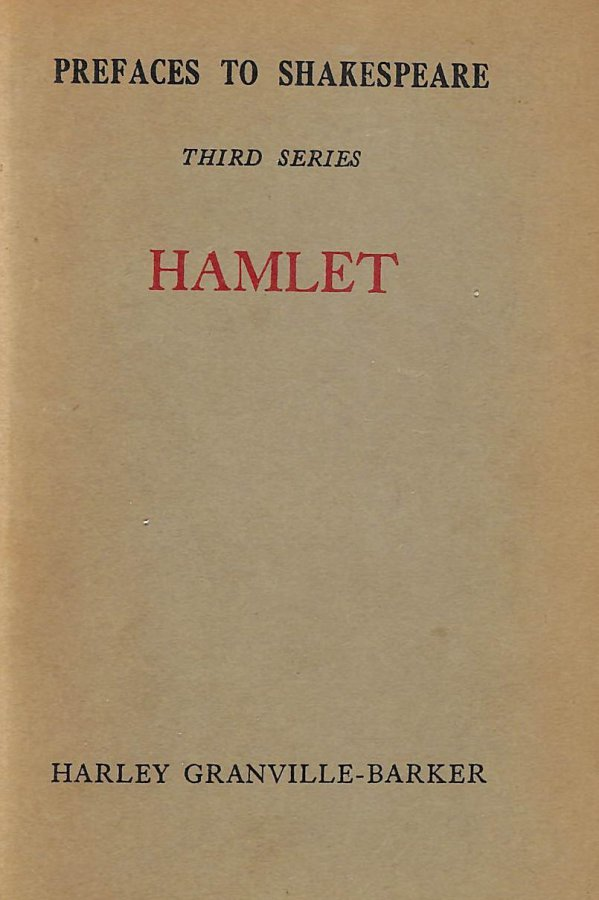 Image for Prefaces To Shakespeare, Third Series, Hamlet