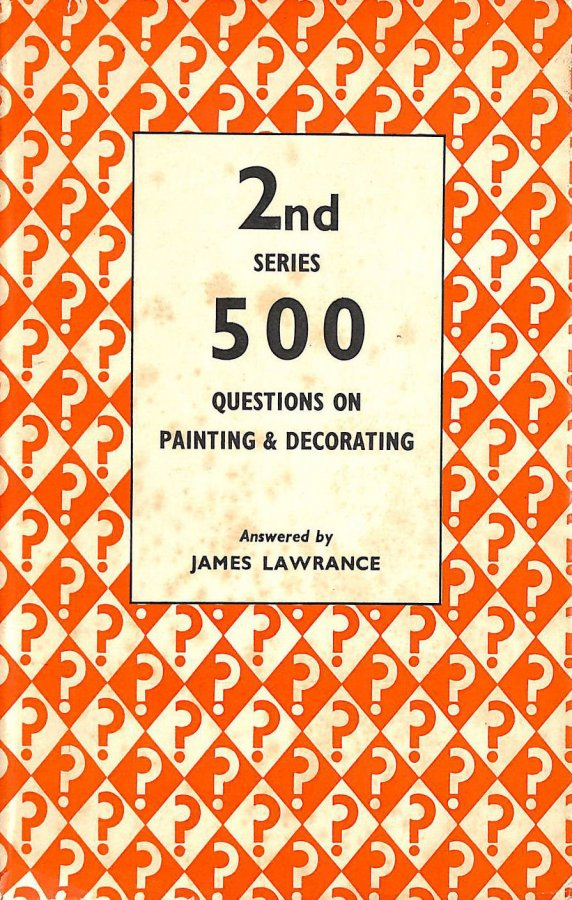 Image for 500 Questions on Painting and Decorating, 2nd Series