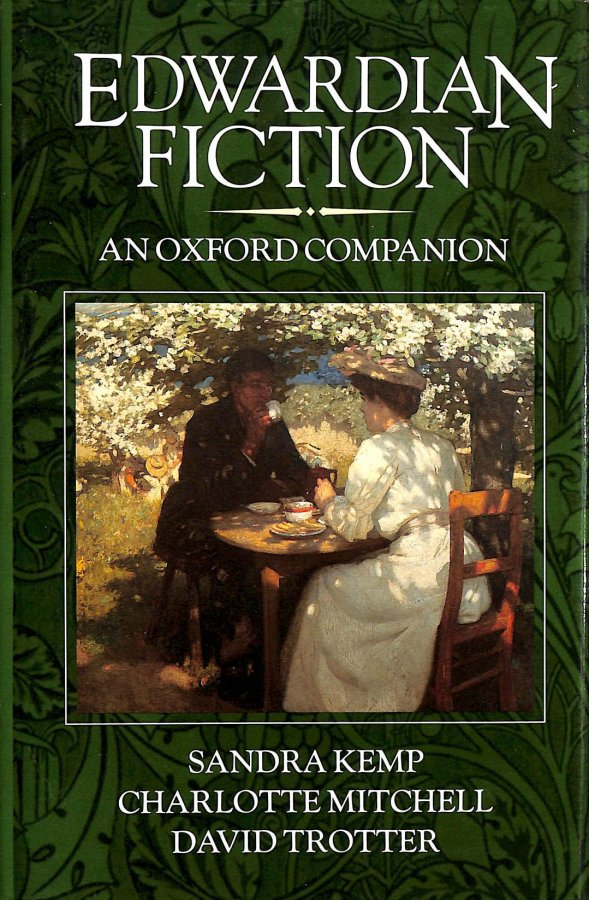 Image for Edwardian Fiction: An Oxford Companion