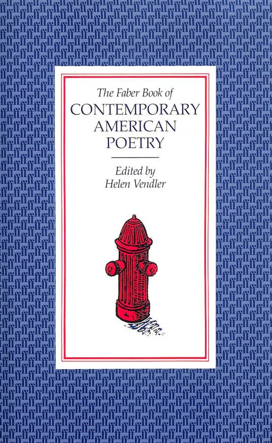Image for The Faber Book Of Contemporary American Poetry