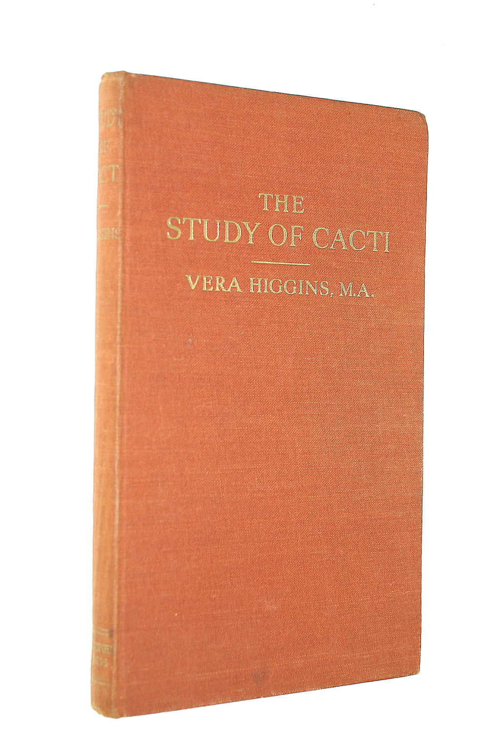 Image for The study of cacti