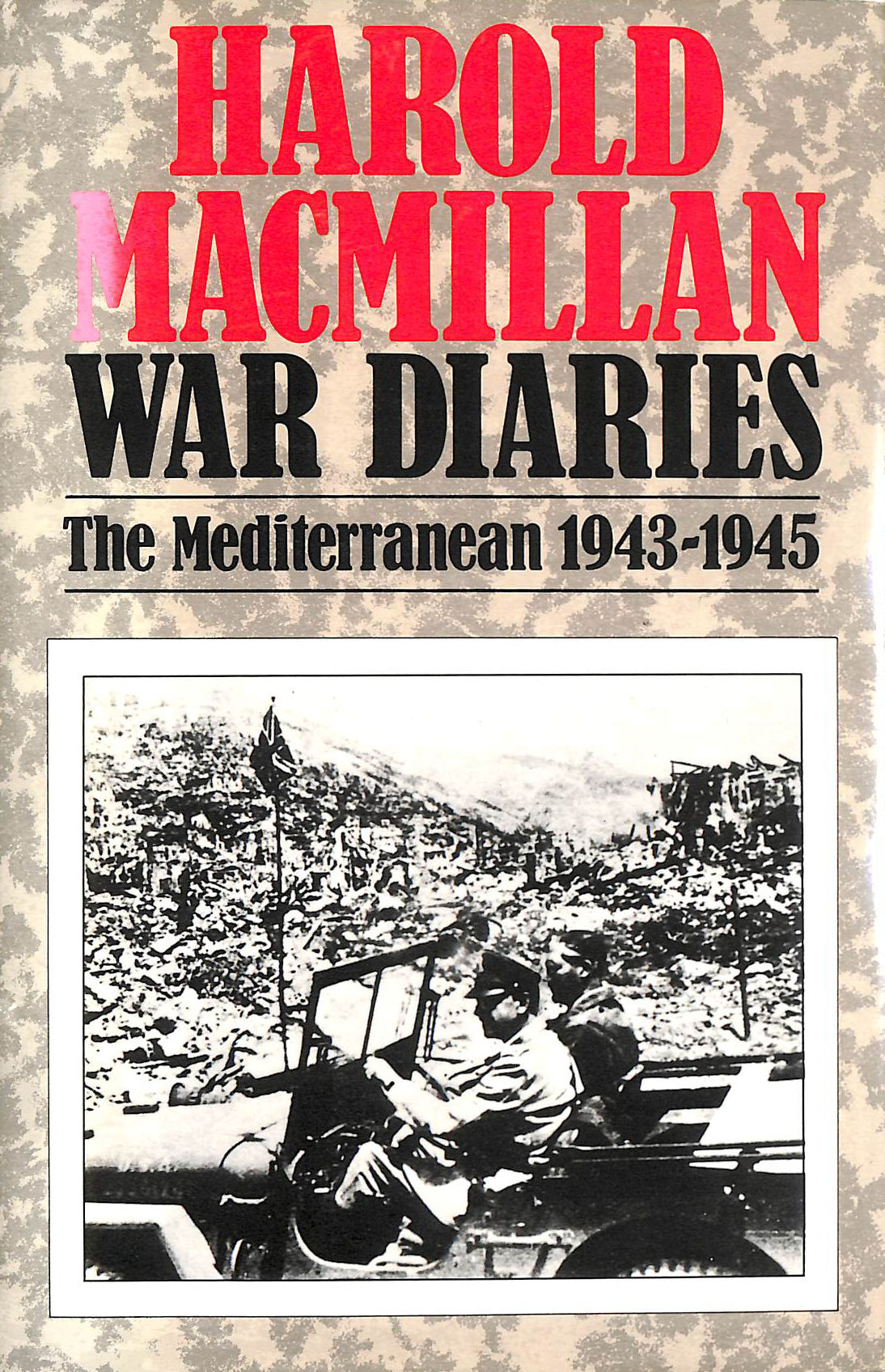 Image for Harold Macmillan War Diaries: The Mediterranean, 1943-45