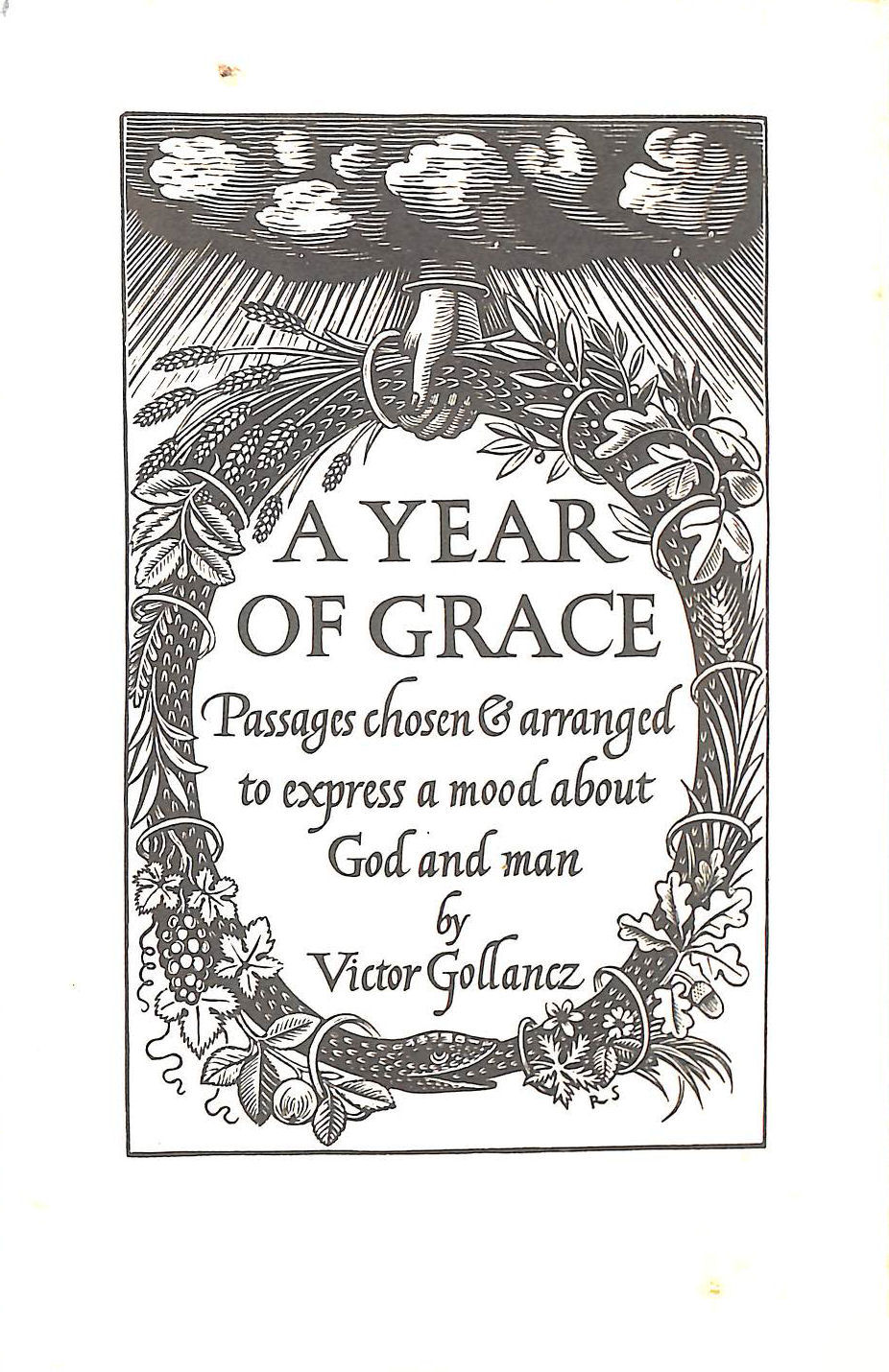 Image for A Year Of Grace