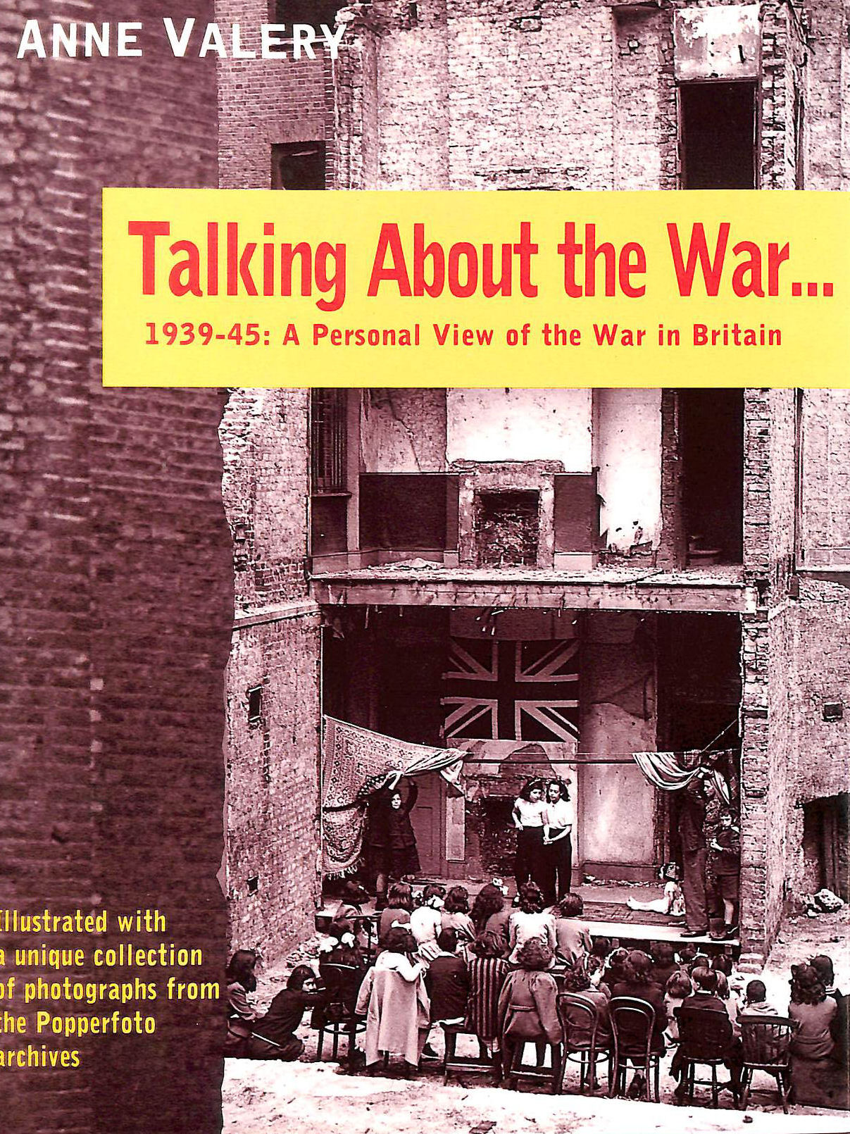 Image for Talking About the War... : 1939-45 - A Personal View of the War in Britain