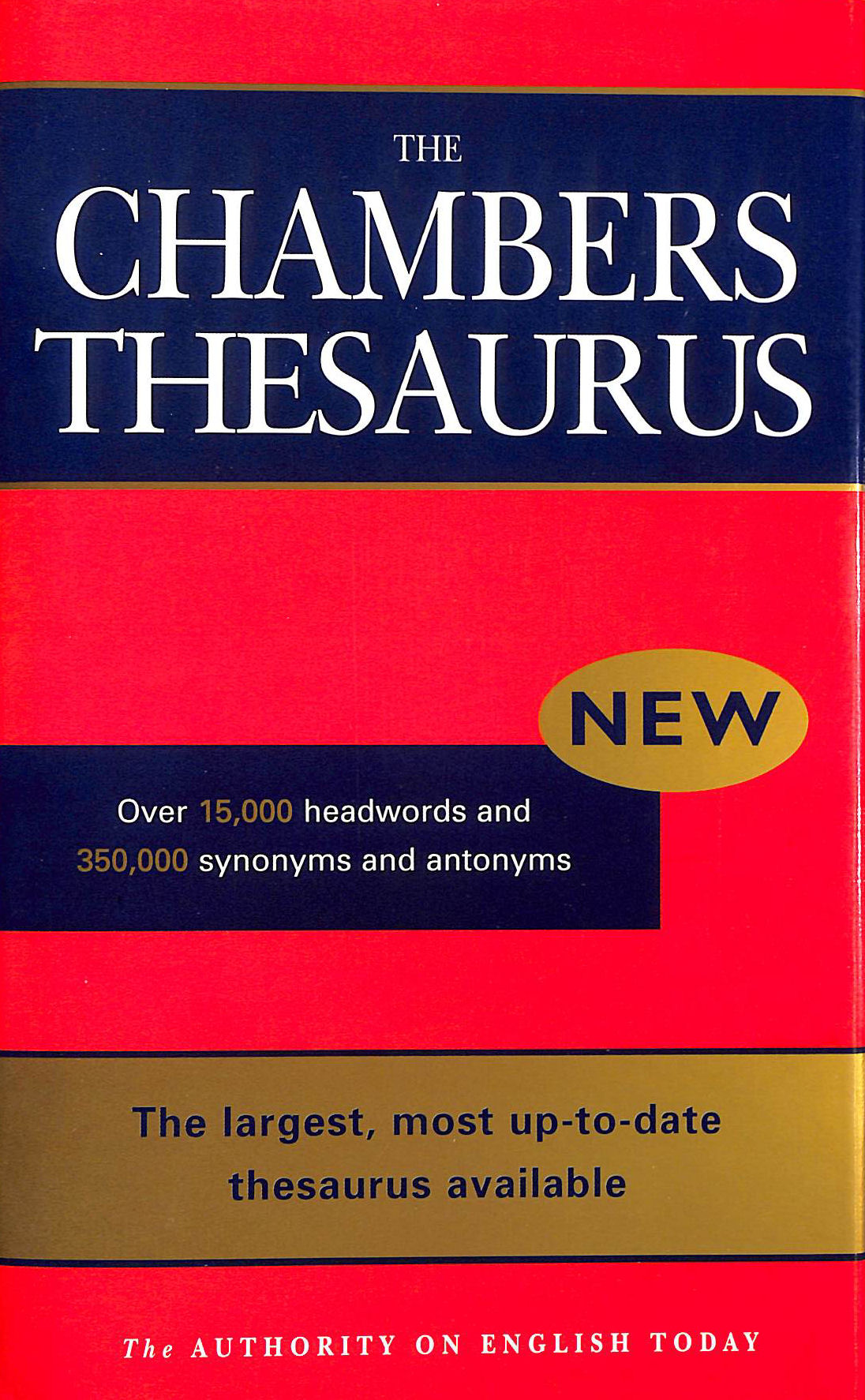 Image for Chambers English Thesaurus