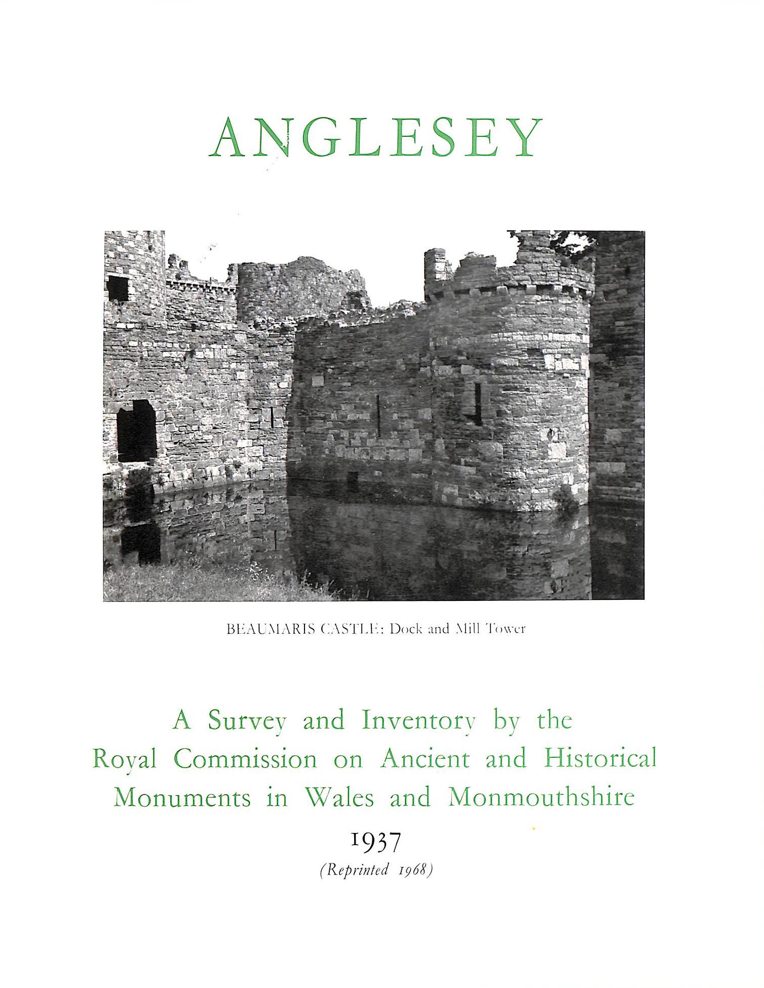 Image for An Inventory of the Ancient Monuments in Anglesey.