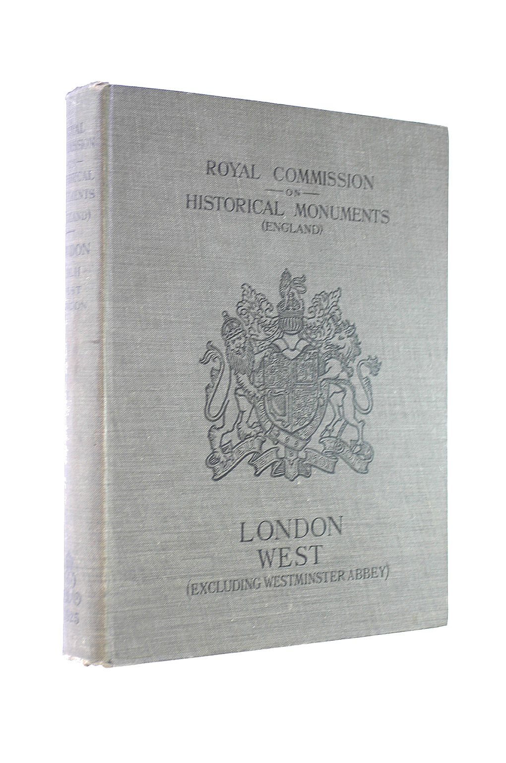 Image for An Inventory of the Historical Monuments in London Vol 2 West London