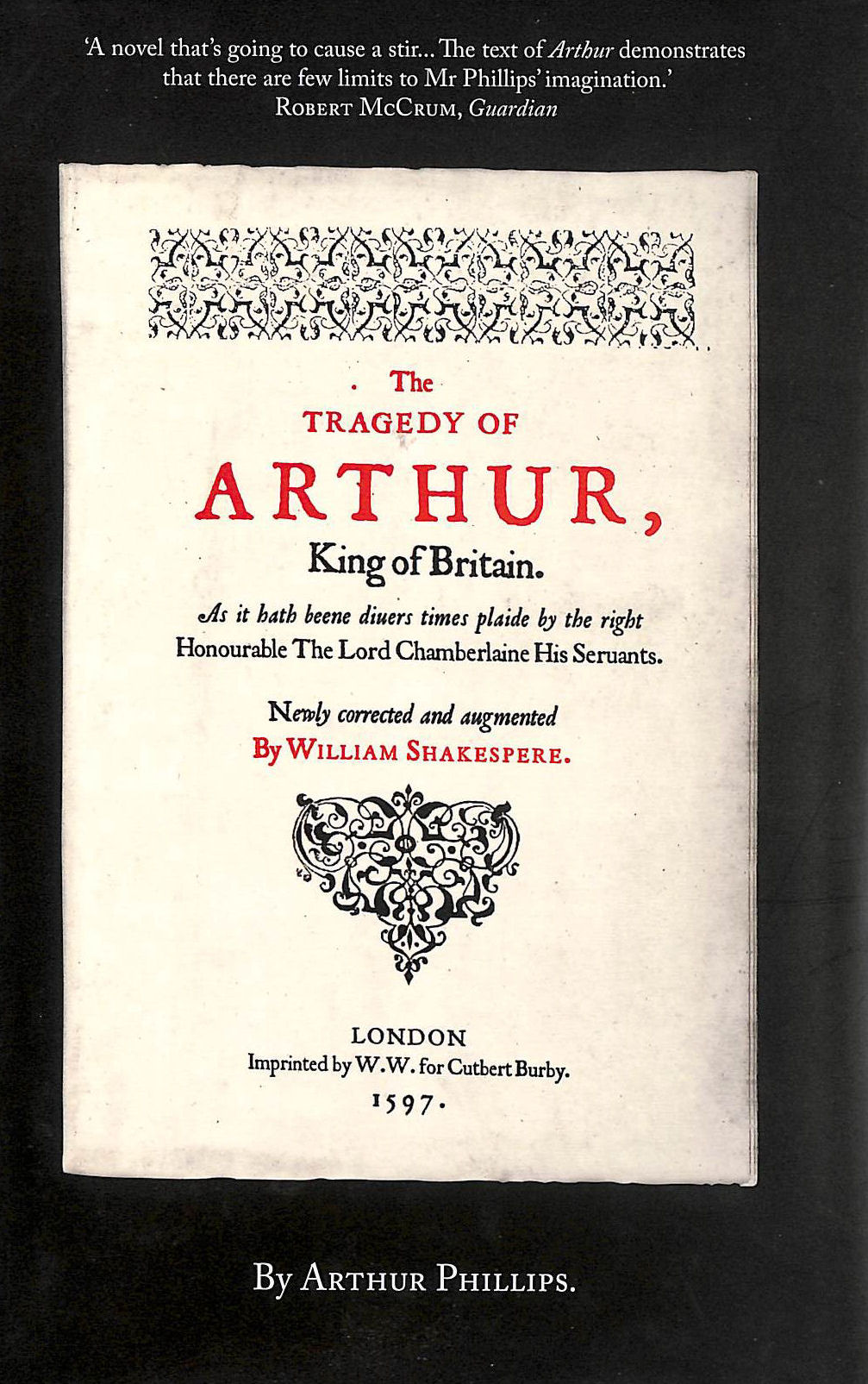 Image for The Tragedy of Arthur