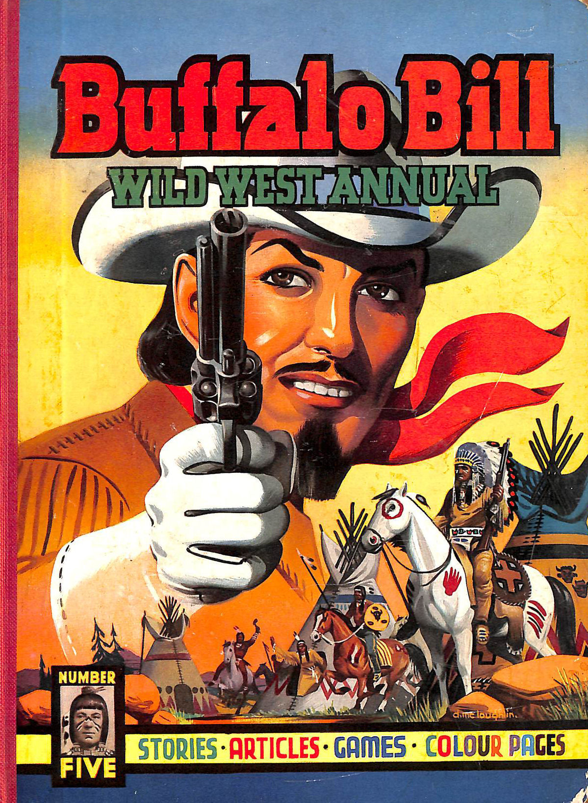 Image for Buffalo Bill wild west annual ( 1954 no.5 five )
