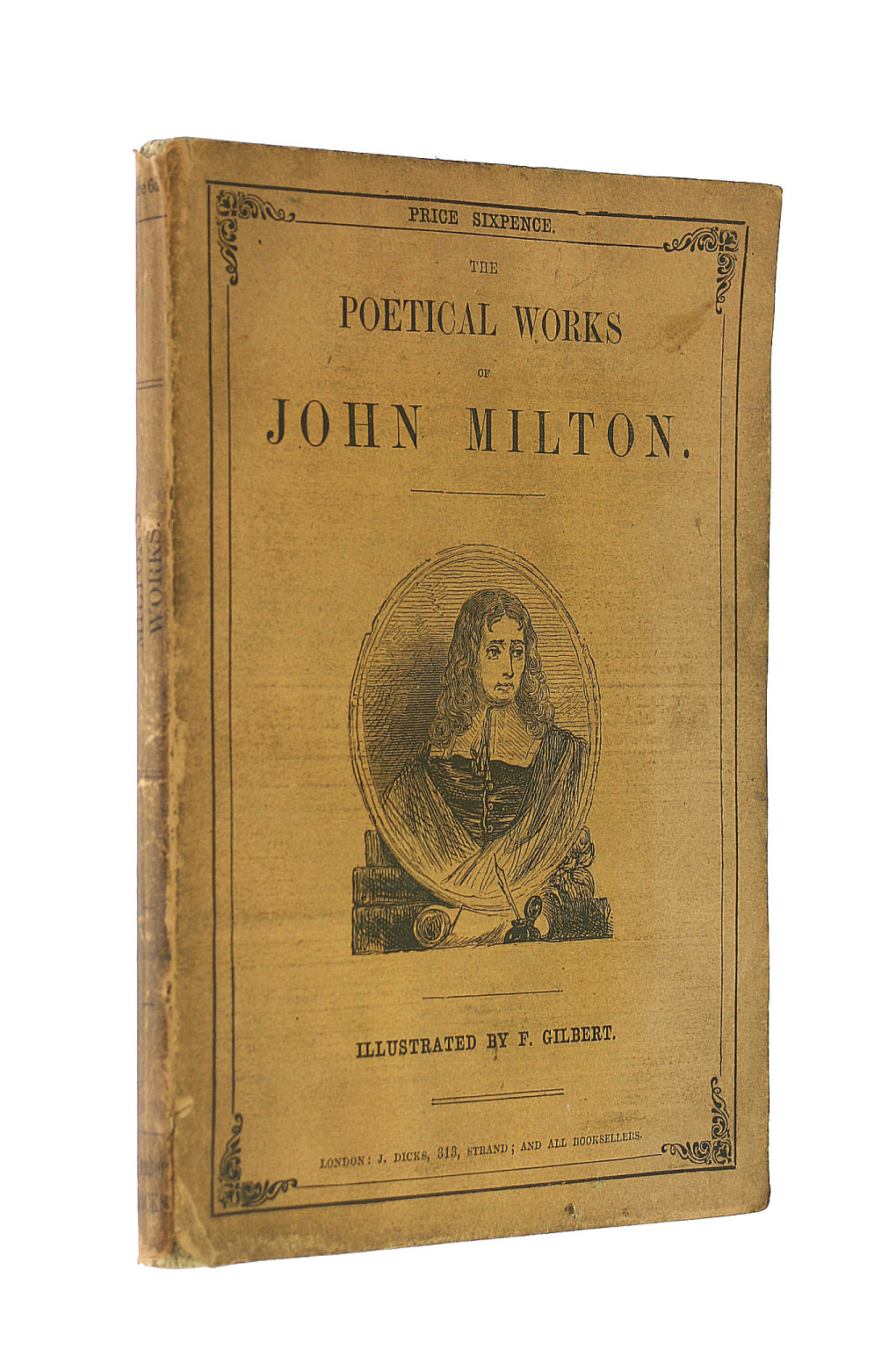 Image for The Poetical Works of John Milton. Illustrated by F. Gilbert