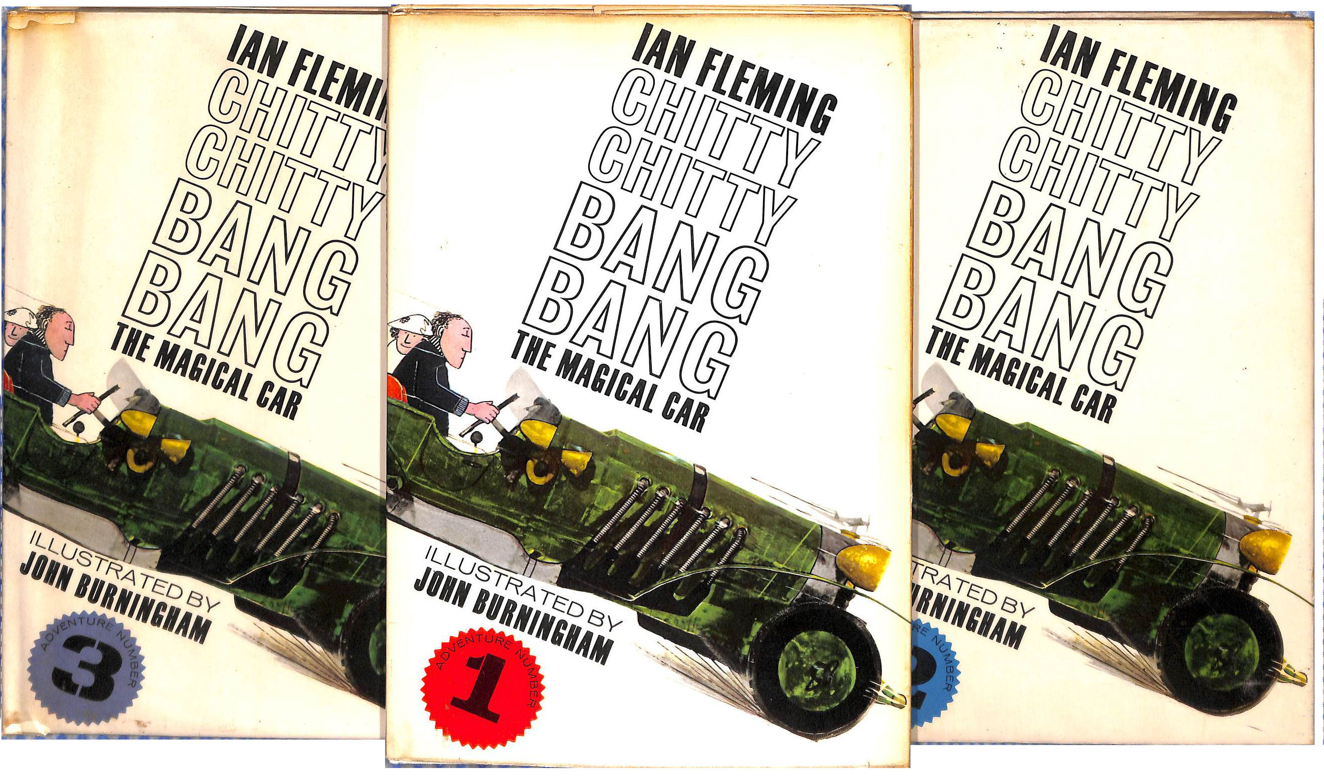 Image for Chitty Chitty Bang Bang The Magical Car in Three Volumes