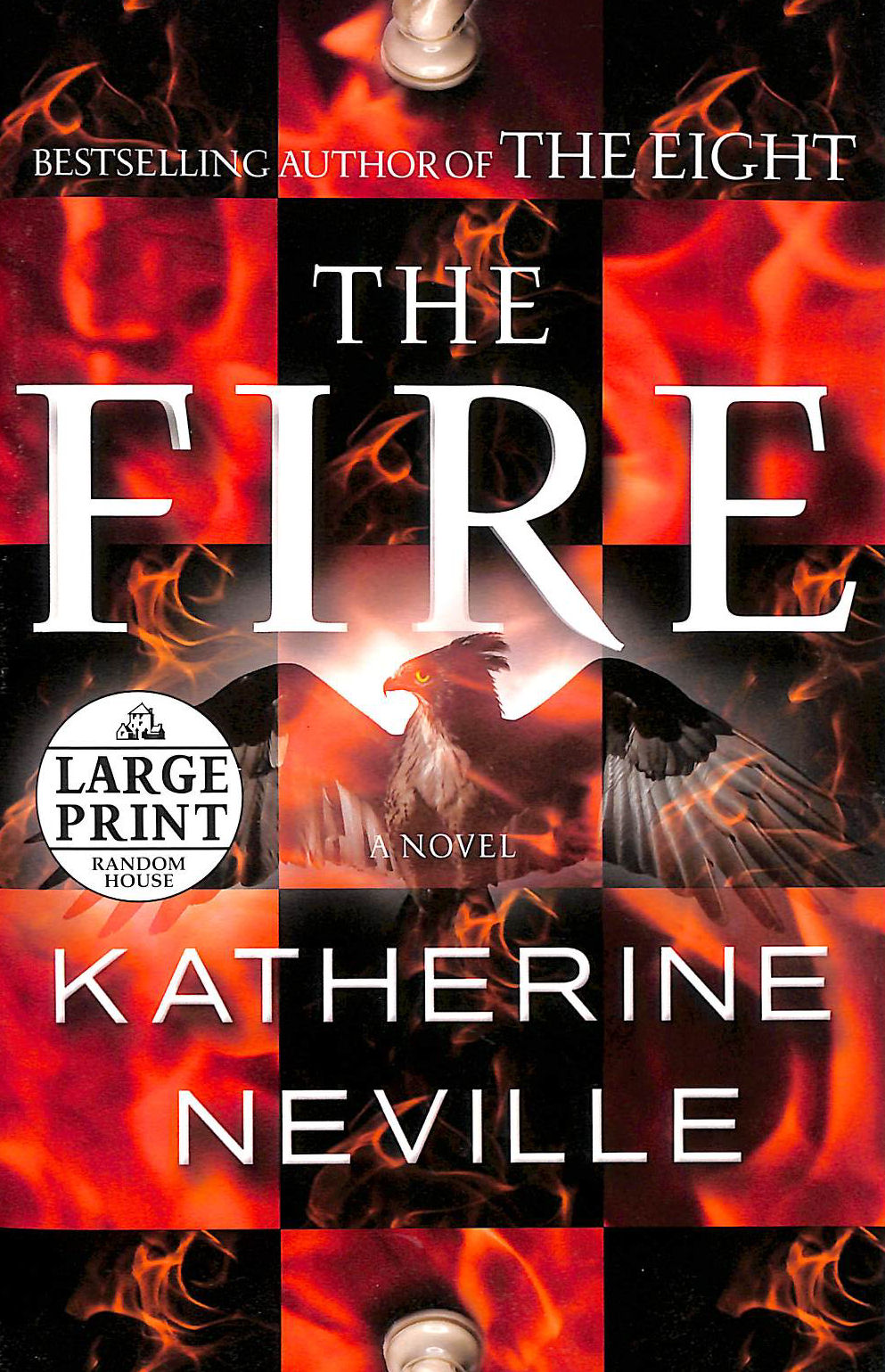 Image for The Fire (Random House Large Print)