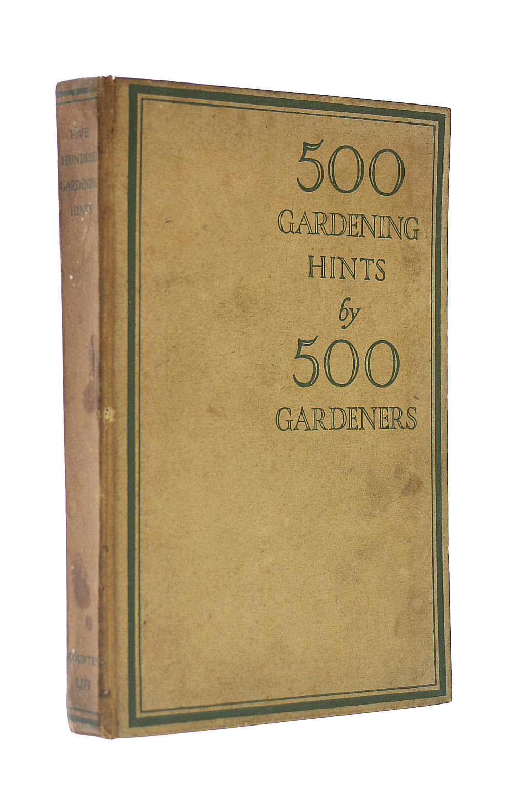 Image for 500 Gardening Hints By 500 Gardeners